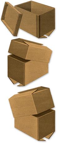 Half Slotted Carton